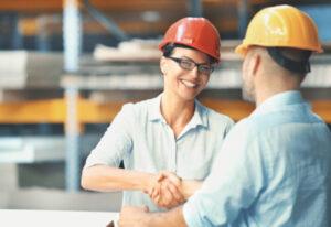 semantisches Bild für Baustellenarbeiter